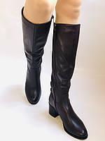 Женские осенне-весенние сапоги на среднем каблуке. Натуральная кожа. Люкс качество. Molka. Р. 37.38.40, фото 7