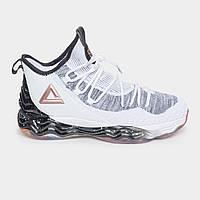 Кроссовки баскетбольные мужские Peak Sport Dwight Howard DH4 E84013A-WHI 45 Белый
