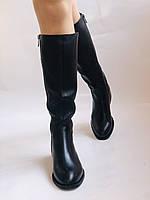 Женские осенне-весенние сапоги на среднем каблуке. Натуральная кожа.Высокое качество. Р. 35.38.39.Molka, фото 9