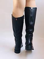Женские осенне-весенние сапоги на среднем каблуке. Натуральная кожа.Высокое качество. Р. 35.38.39.Molka, фото 5