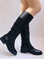 Женские осенне-весенние сапоги на среднем каблуке. Натуральная кожа.Высокое качество. Р. 35.38.39.Molka, фото 7