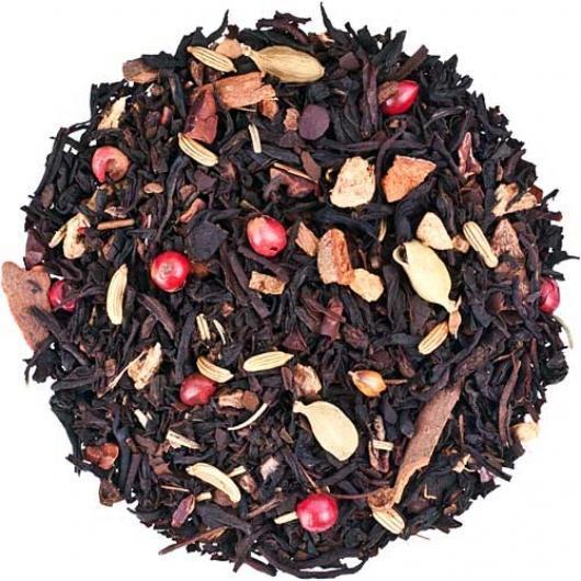 Черный Чай  Огненный танец крупно листовой Tea Star 50 гр