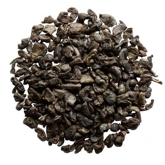 Китайский зеленый Чай  Черный Порох крупно листовой Tea Star 50 гр