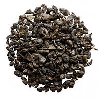Китайский зеленый Чай  Черный Порох крупно листовой Tea Star 50 гр, фото 1