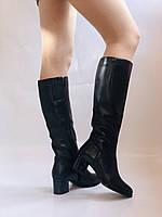 Polann. Женские осенне-весенние сапоги на среднем каблуке. Р 35,36,37,39 40, фото 8