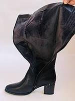Polann. Женские осенне-весенние сапоги на среднем каблуке. Р 35,36,37,39 40, фото 10