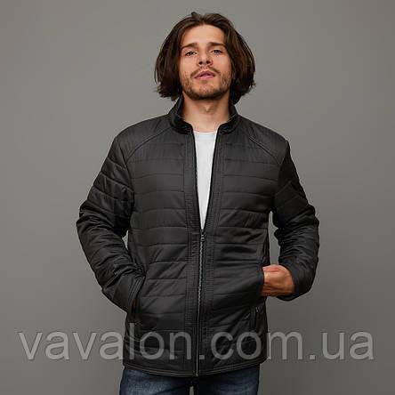 Куртка демисезонная Vavalon KD-180 gray, фото 2