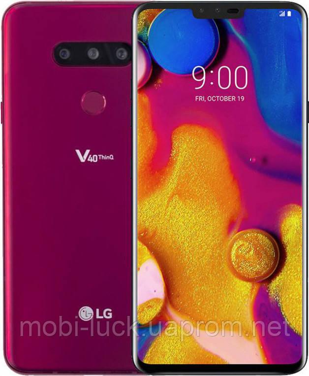 Смартфон LG V40 LM-V409N 128Gb Rose 1sim Refurbished