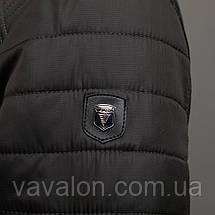 Куртка демисезонная Vavalon KD-180 gray, фото 3