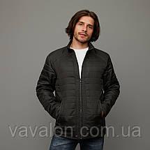 Куртка демисезонная Vavalon KD-180 Khaki, фото 3