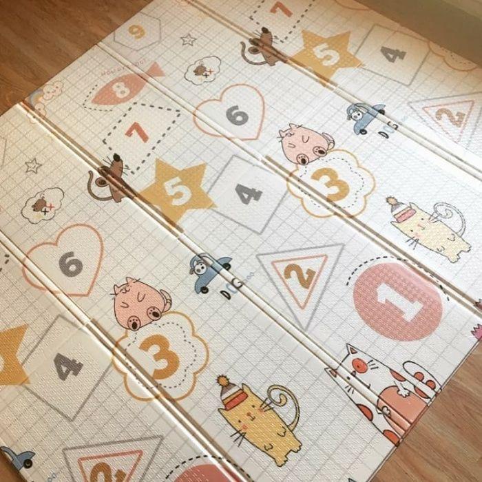 Детский коврик игровой  с сумкой 180*160