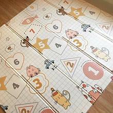 Детский коврик игровой с сумкой 200*180