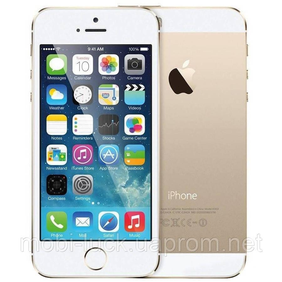 Смартфон Apple iPhone 5S 16GB Gold Grade A Refurbished