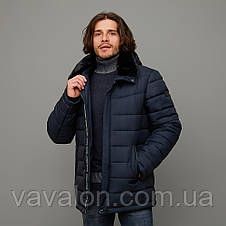 Зимняя мужская куртка Vavalon KZ-912 navy, фото 2