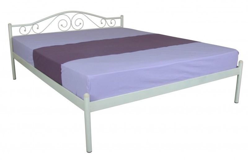 Металева ліжко 140х200 ALBA beige ТМ EAGLE
