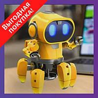 Умный интерактивный Робот-Конструктор Tobbie Robot HG-715 / Игрушка для ребенка / Мини-робот