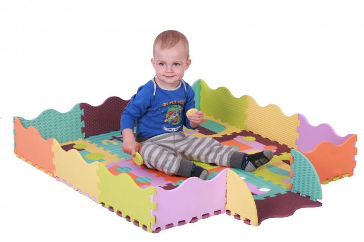 Детский коврик развивающий для ползанья