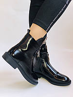 Женские осенние ботинки на низкой подошве. Натуральная кожа. Люкс качество.Stalo Totti Р. 38.  40, фото 3