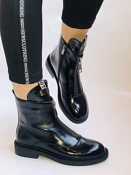 Женские осенние ботинки на низкой подошве. Натуральная кожа. Люкс качество.Stalo Totti Р. 38.  40