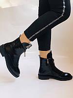 Женские осенние ботинки на низкой подошве. Натуральная кожа. Люкс качество.Stalo Totti Р. 38.  40, фото 2