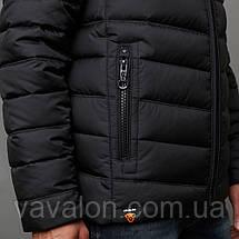 Куртка демисезонная Vavalon EZ-932 Black, фото 3