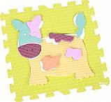 Детский коврик-пазл 92см*92см Веселый зоопарк  GB-M129А2, фото 2