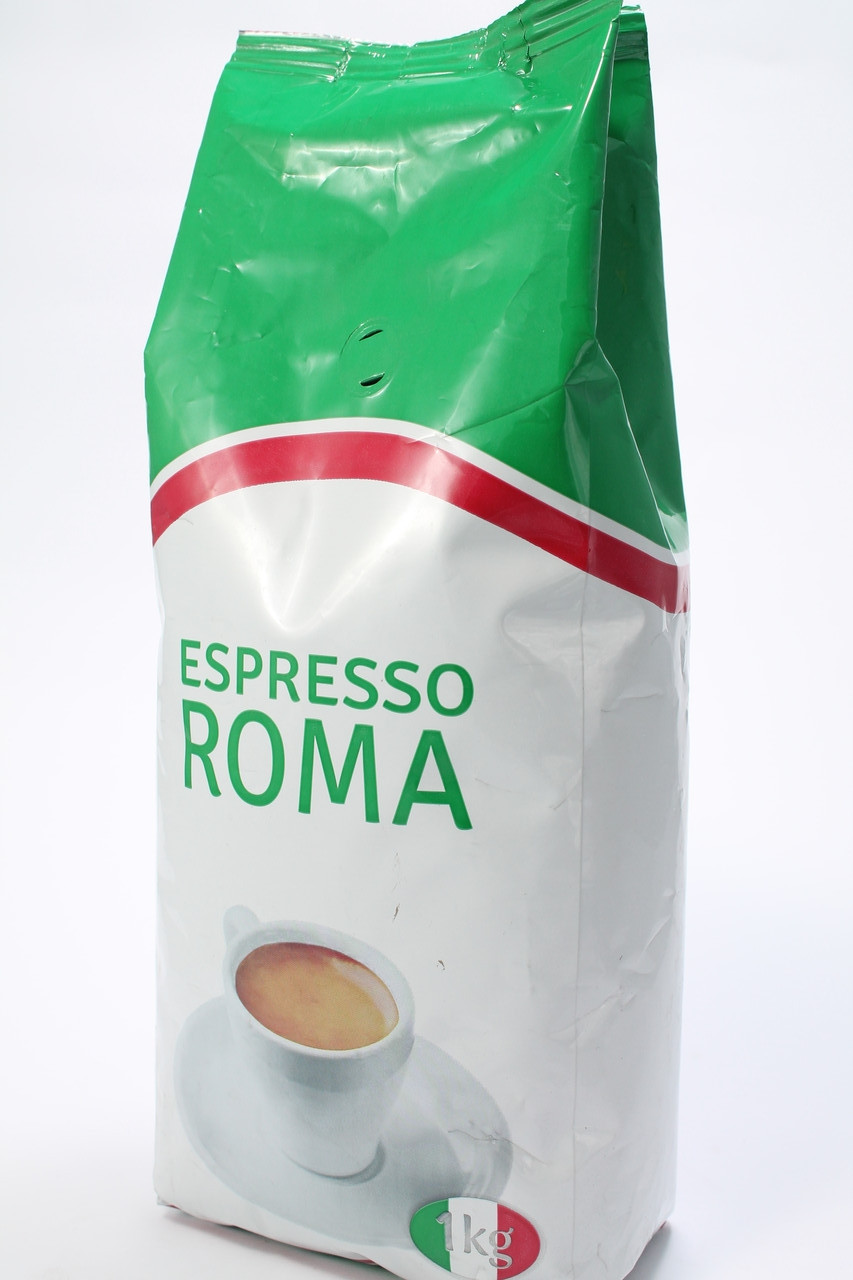 Кофе в зернах Віденська Кава ROMA 1кг Украина