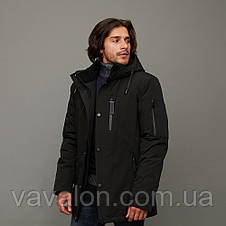 Зимняя мужская куртка Vavalon KZ-2003 Black, фото 3