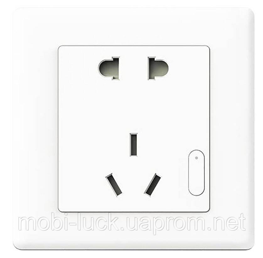 Умная розетка Xiaomi Умная розетка Xiaomi Aqara Wall Outlet Socket ZigBee (QBCZ11LM)