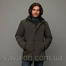 Зимняя мужская куртка Vavalon KZ-2003 Khaki, фото 2