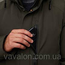 Зимняя мужская куртка Vavalon KZ-2003 Khaki, фото 3