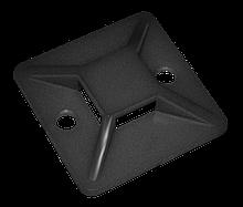 Площадка ПП самоклейка чёрная  25mm x 25mm (упаковка 100 шт.)
