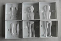 Молд пластиковый 3Д ребенок (код 01653)