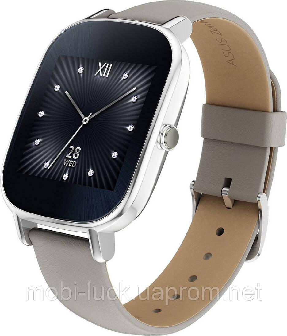 Смарт-часы ASUS ZenWatch 2 WI502Q Silver/Leather Grey Grade B Уценка