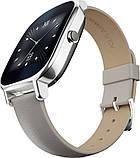 Смарт-часы ASUS ZenWatch 2 WI502Q Silver/Leather Grey Grade B Уценка, фото 2