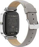 Смарт-часы ASUS ZenWatch 2 WI502Q Silver/Leather Grey Grade B Уценка, фото 4