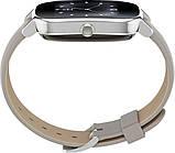 Смарт-часы ASUS ZenWatch 2 WI502Q Silver/Leather Grey Grade B Уценка, фото 5