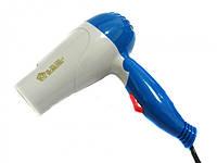 Фен для волос дорожный Domotec MS-1390 складная ручка 1000W (2_009611)