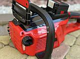 Аккумуляторная цепная пила Vitals Master AKZ 3602a с аккумулятором и зарядкой, фото 5