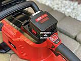 Аккумуляторная цепная пила Vitals Master AKZ 3602a с аккумулятором и зарядкой, фото 7