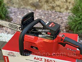 Аккумуляторная цепная пила Vitals Master AKZ 3602a с аккумулятором и зарядкой