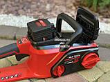 Аккумуляторная цепная пила Vitals Master AKZ 3602a с аккумулятором и зарядкой, фото 8