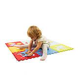 Детский коврик на пол развивающий 92см*92см, фото 3