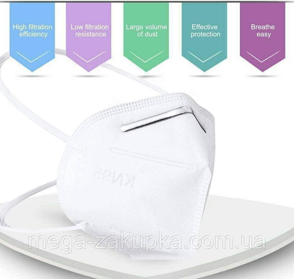 Защитная маска для лица Protective Mask класса защиты FFP2