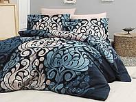 Комплект постельного белья семейный Cotton Satin First Choice (Laura Lacivert)