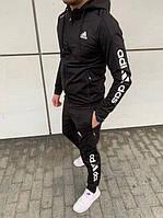 Спортивный костюм мужской Adidas. Спортивный костюм Адидас Черный