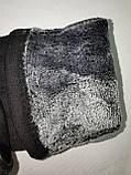 Сенсорны трикотаж з махра Angel рукавички чоловічі тільки оптом, фото 4