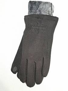 Сенсорны трикотаж с махра Angel перчатки мужские только оптом
