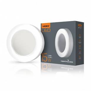 LED світильник ART зовнішній круглий VIDEX 15W 5000K 25244
