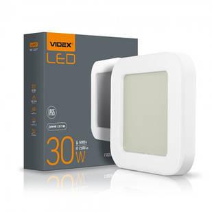 Світильник ART зовнішній квадратний VIDEX 30W 5000K 25804